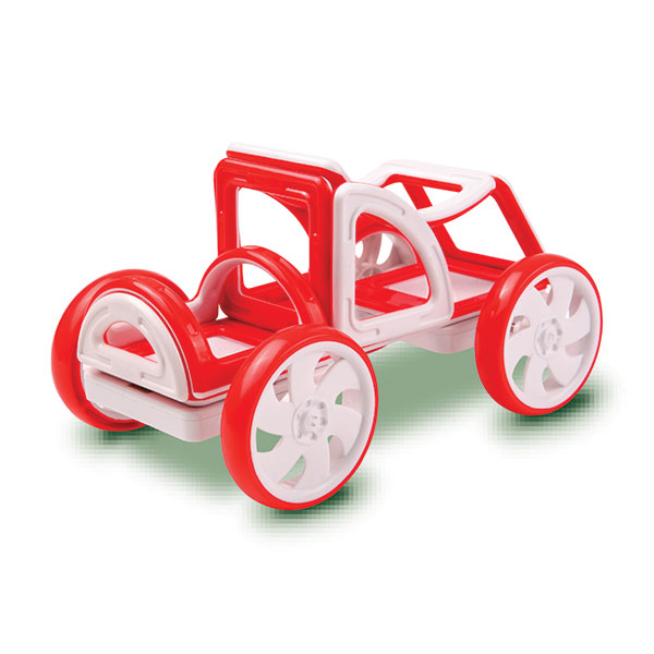 My First Buggy Car Set - Red