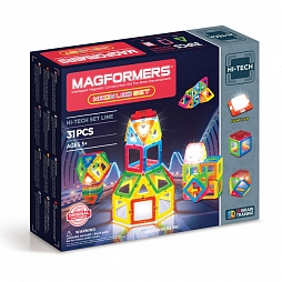 Magformers Neon LED set 31P