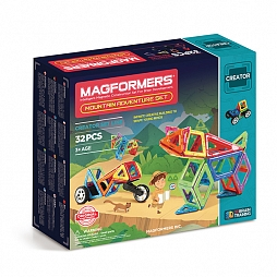 Magformers Adventure Mountain Set